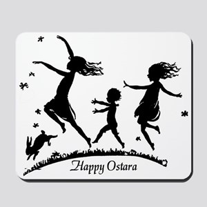 Happy Ostara Dance Mousepad